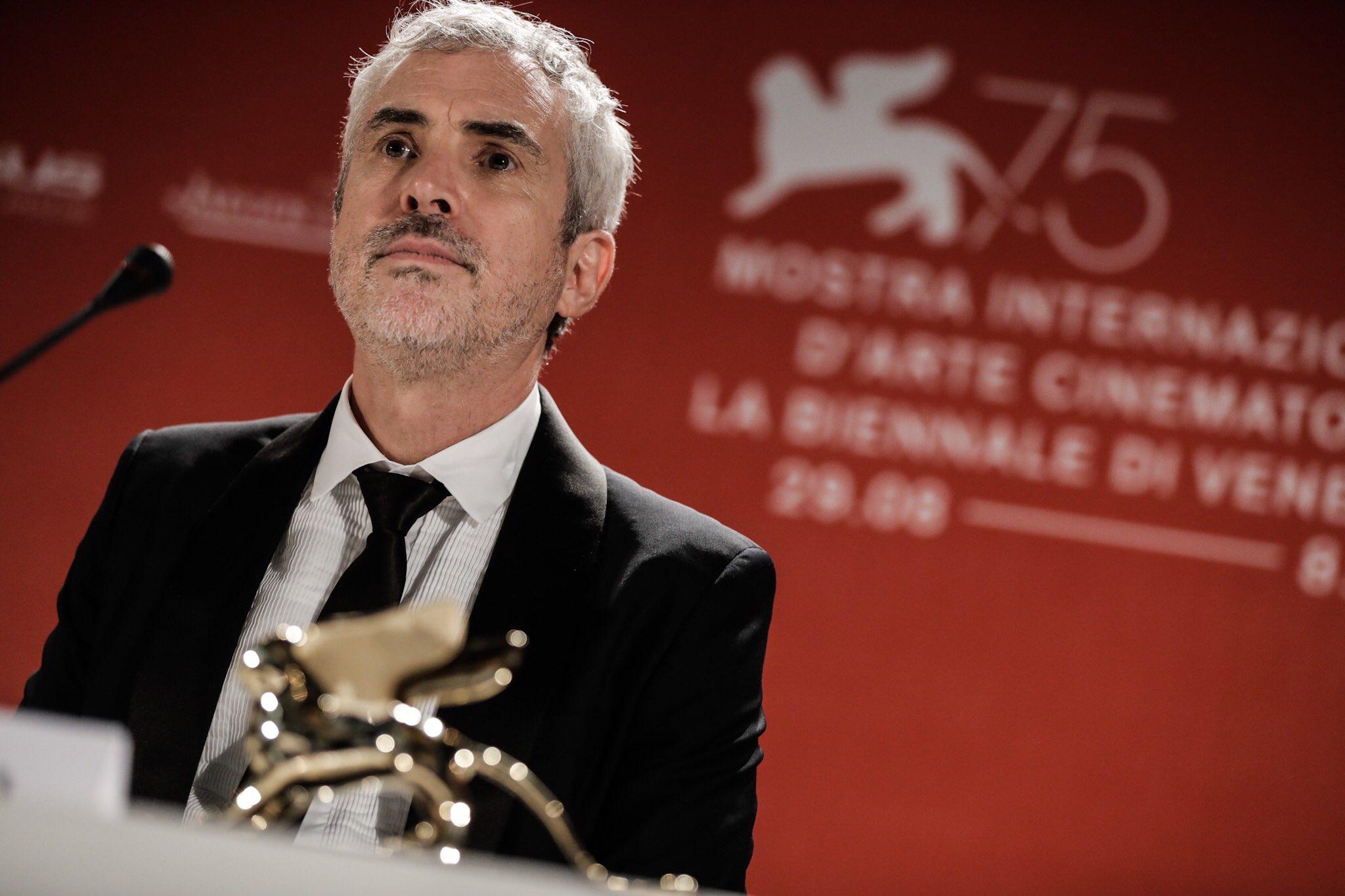Alfonso Cuaron Leon de Oro