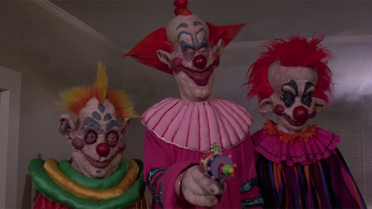 Killer Klowns from Outer Space. Fuente: Alamo Drafthouse Cinema.com