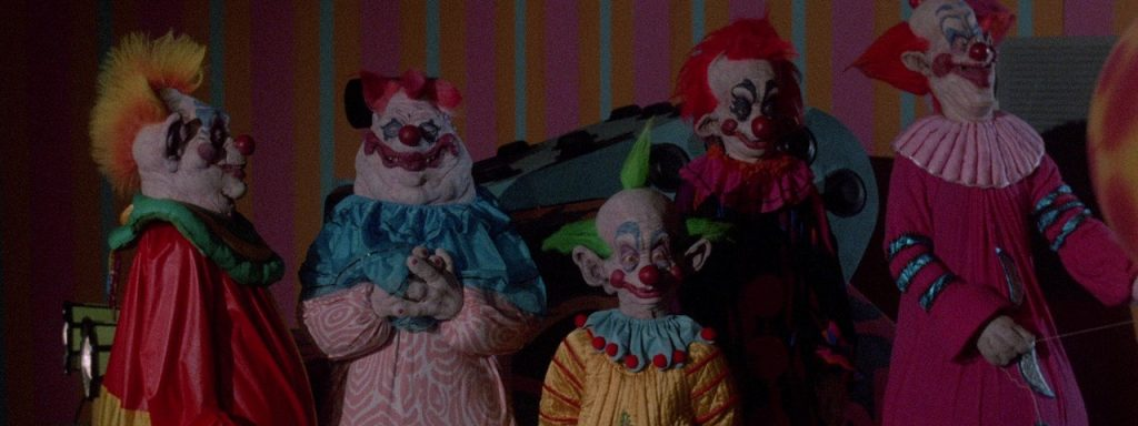 Killer Klowns from Outer Space. Fuente: The Prince Charles Cinema.com