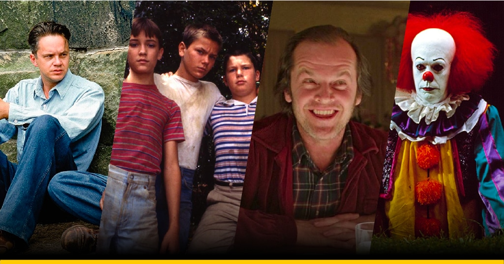 Imágenes de 'The Shawshank Redemption, Stand by Me, The Shining e IT