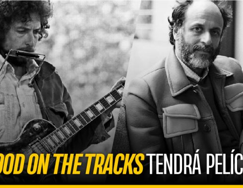 Bob Dylan y el director Luca Guadagnino