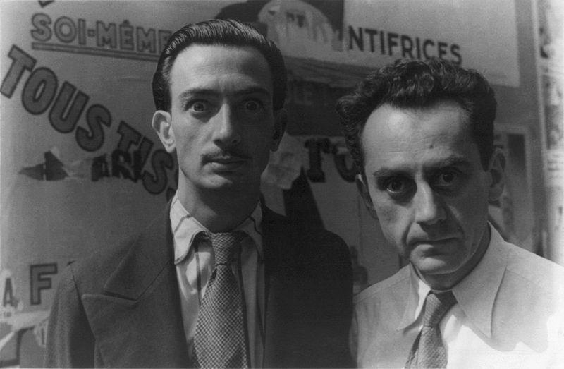 Salvador Dalí (izquierda), Luis Buñuel (derecha). Fuente: Proyecto IDIS