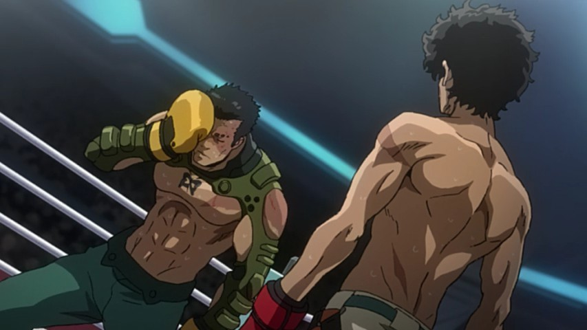 Megalo Box. Fuente: Lost In Anime