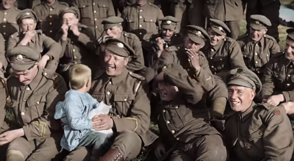They Shall Not Grow Old. Fuente: IndieWire