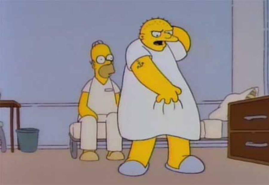 Los Simpson. Fuente: FayerWare