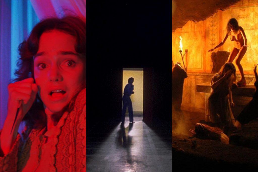 Suspiria (1977), Inferno (1980) y La madre del mal (2007). Fuente: MUBI - UTC
