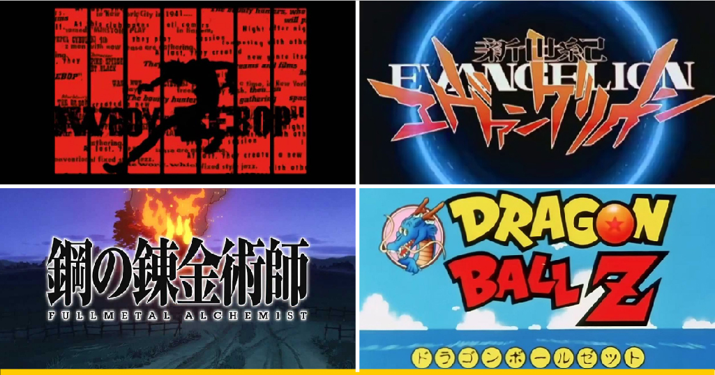 24 openings legendarios de anime