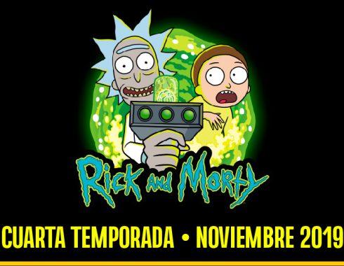 Se anuncia cuarta temporada de Rick y Morty