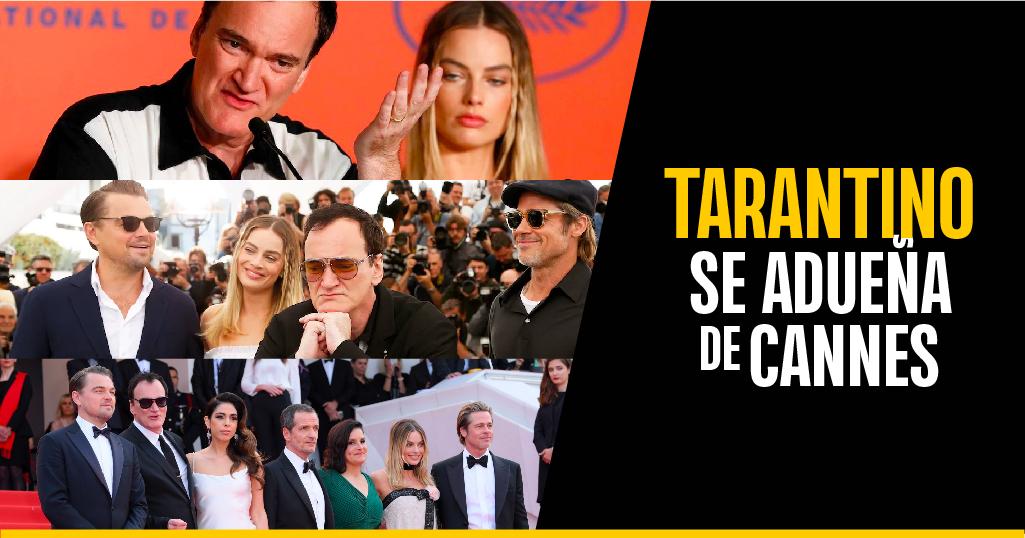 Tarantino, la sensación en Cannes