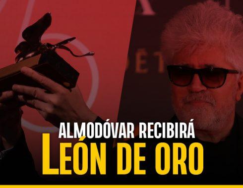 Almodóvar será premiado con un León de Oro en Venecia
