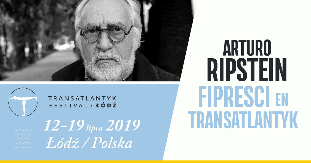 Recibe Arturo Risptein el FIPRESCI Platinum Award 94 durante el Festival Transatlantyk
