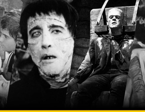 Películas inspiradas en Frankenstein