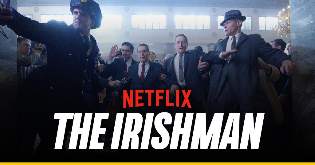 Lo que debes saber de 'The Irishman'
