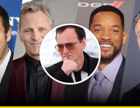 13 actores que rechazaron a Tarantino