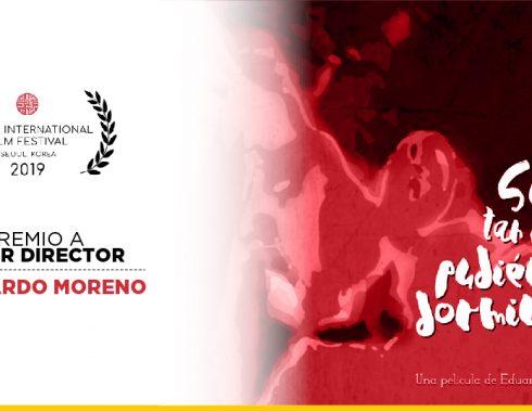 Cineasta independiente mexicano, se lleva el premio al Mejor Director en el Festival Internacional de Cine de Seúl