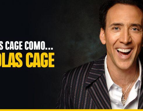Nicolas Cage interpretará a Nicolas Cage, en un filme sobre Nicolas Cage