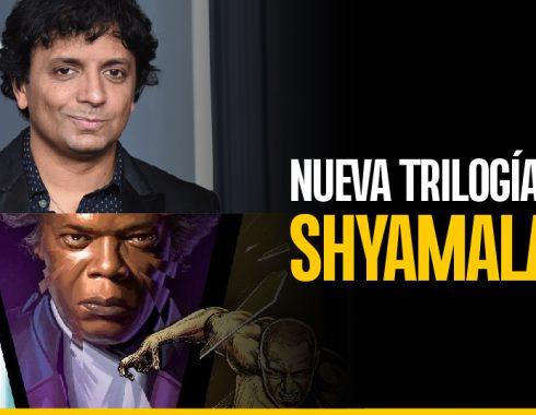 El director M. Night Shyamalan prepara nueva trilogía
