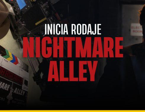 """""""Nightmare Alley"""": empezó su filmación la nueva cinta de Guillermo del Toro"""