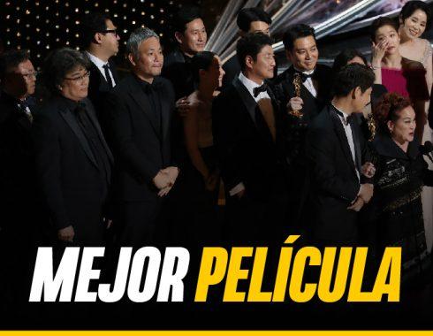 """Parasite"" gana el Óscar a mejor película"