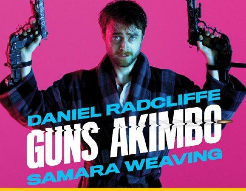 """Guns Akimbo"": pistolas, violencia futurista y humor negro al por mayor"