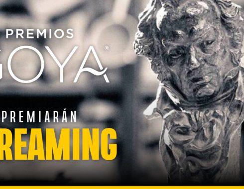Los Premios Goya premiarán a las películas estrenadas por internet
