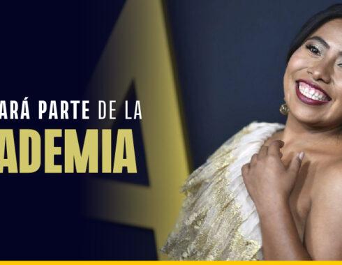 Yalitza Aparicio formará parte de la Academia de Hollywood